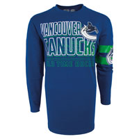 Vancouver Canucks YOUTH Bandit Long Sleeve T-Shirt All items