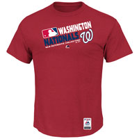 Washington Nationals Authentic Collection Team Choice Heathered T-Shirt All items
