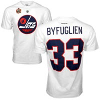 Winnipeg Jets Dustin Byfuglien 2016 NHL Heritage Classic Player Name and Number All items