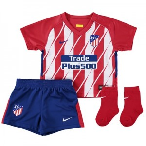 Atlético de Madrid Home Stadium Kit 2017-18 – Infants All items