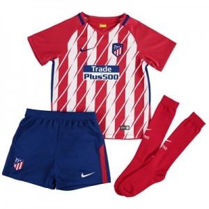 Atlético de Madrid Home Stadium Kit 2017-18 – Little Kids All items