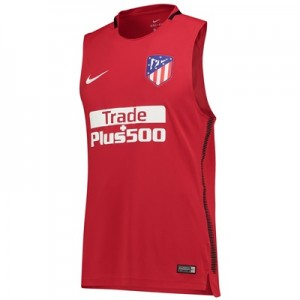 Atlético de Madrid Squad Sleeveless Training Top – Red All items