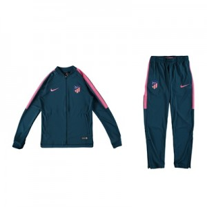 Atlético de Madrid Squad Knit Tracksuit – Lt Blue – Kids All items