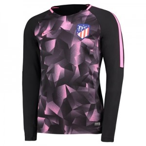 Atlético de Madrid Squad Pre-Match Long Sleeve Training Top – Black All items