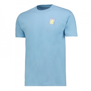 Aston Villa Classic T-Shirt – Sky Blue – Mens All items