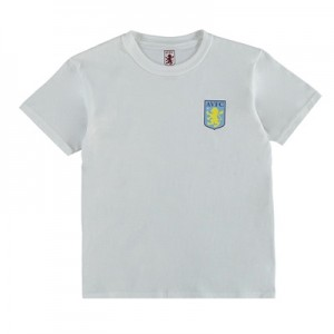 Aston Villa Classic T-Shirt – White – Junior All items
