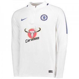 Chelsea Squad Drill Top – White All items