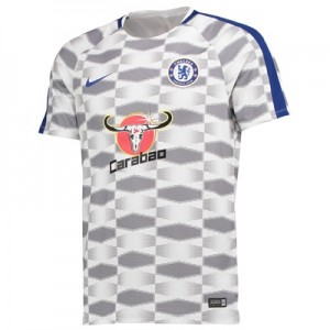 Chelsea Squad Pre-Match Training Top – White – Kids All items