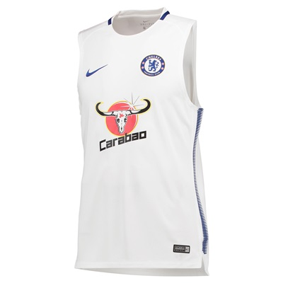 Chelsea Squad Training Sleeveless Top – White All items