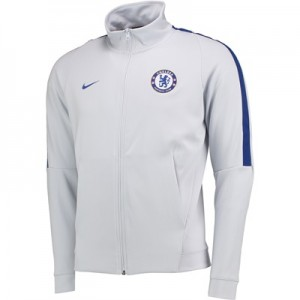 Chelsea Authentic Franchise Track Jacket – Light Grey All items