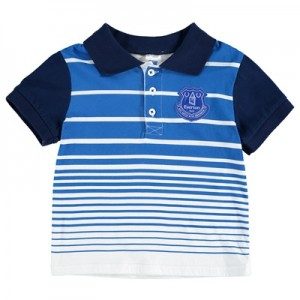 Everton Stripe Polo – Royal/Navy (2-7yrs) All items