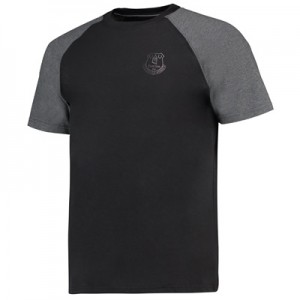 Everton Ath T-Shirt – Black/Charcoal Marl All items