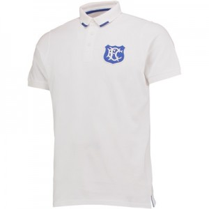Everton Goodison 125 Years Polo Shirts – White – Mens All items