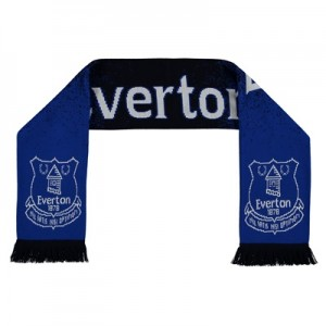 Everton Speckled Jacquard Scarf All items