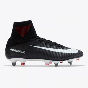 Nike Mercurial Superfly V Soft Ground Football Boots – Black/White/Dar All items