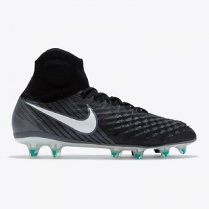 Nike Magista Obra II Firm Ground Football Boots – Black/White/Dark Gre All items