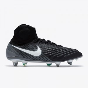 Nike Magista Obra II Soft Ground Football Boots – Black/White/Dark Gre All items