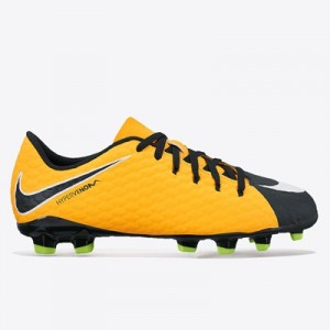 Nike Hypervenom Phelon III Firm Ground Football Boots – Laser Orange/B All items