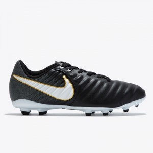 Nike Tiempo Ligera IV Firm Ground Football Boots – Black/White/Black – All items