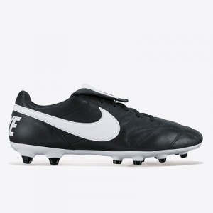 Nike Premier II Firm Ground Football Boots – Black/White/Black All items