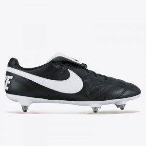 Nike Premier II Soft Ground Football Boots – Black/White/Black All items