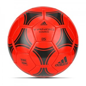 adidas Tango Rosario Football – Core Black/Solar Red – Size 5 All items