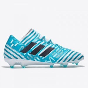 adidas Nemeziz Messi 17.1 Firm Ground Football Boots – White/Legend In All items