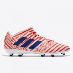 adidas Nemeziz 17.3 Firm Ground Football Boots – White/Mystery Ink/Eas Clothing