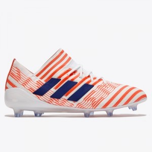 adidas Nemeziz 17.1 Firm Ground Football Boots – White/Mystery Ink/Eas All items