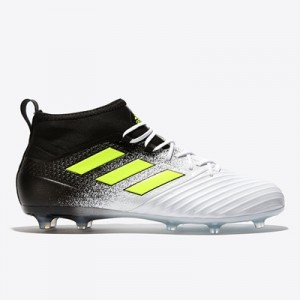 adidas Ace 17.2 Firm Ground Football Boots – White/Solar Yellow/Core B All items