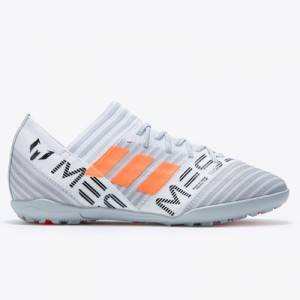 adidas Nemeziz Messi Tango 17.3 Astroturf Trainers – White/Solar Orang All items