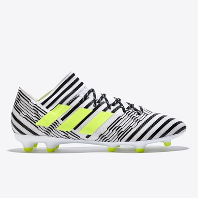 adidas Nemeziz 17.3 Firm Ground Football Boots – White/Solar Yellow/Co All items