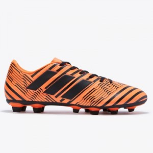 adidas Nemeziz 17.4 Firm Ground Football Boots – Solar Orange/Core Bla All items