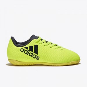 adidas X 17.4 Indoor Trainers – Solar Yellow/Legend Ink/Legend Ink – K All items