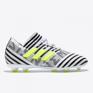 adidas Nemeziz 17.1 Firm Ground Football Boots – White/Solar Yellow/Co All items