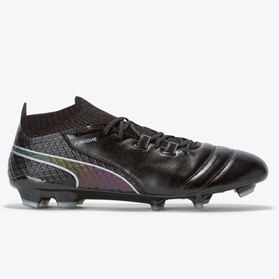 Puma One 17.1 Firm Ground Football Boots – Black/Black/Silver All items
