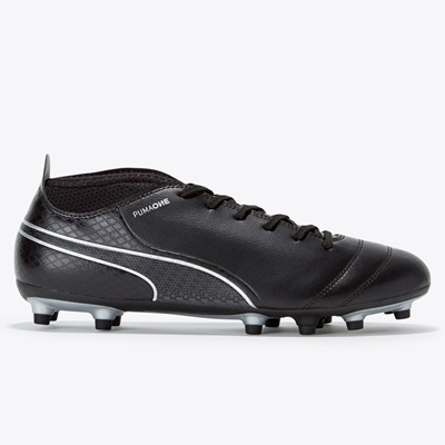 Puma One 17.4 Firm Ground Football Boots – Black/Black/Silver All items