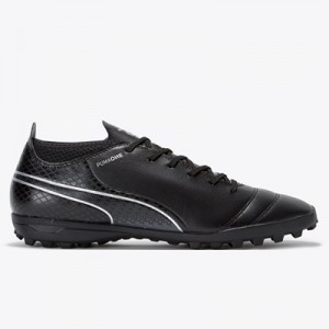 Puma One 17.4 Astroturf Trainers – Black/Black/Silver All items