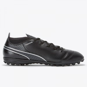 Puma One 17.4 Astroturf Trainers – Black/Black/Silver – Kids All items