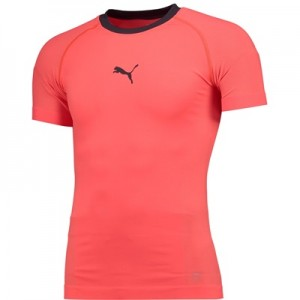 Puma EvoTRAINING Evoknit Tee – Fiery Coral/Emberglow All items