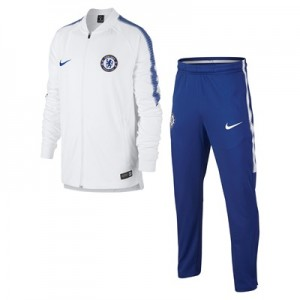 Chelsea Squad Training Tracksuit – White – Kids All items