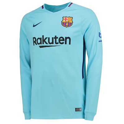 Barcelona Away Stadium Shirt 2017-18 – Long Sleeve All items