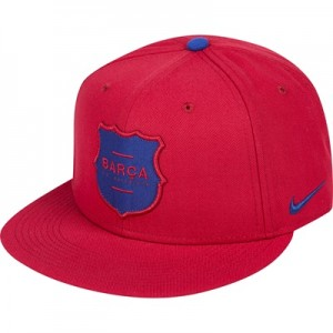 Barcelona Squad Snap Back Cap – Red All items
