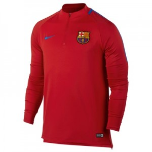 Barcelona Squad Drill Top – Red All items