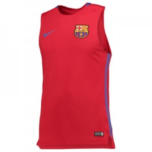 Barcelona Squad Sleeveless Training Top – Red All items