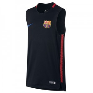 Barcelona Squad Sleeveless Training Top – Black – Kids All items