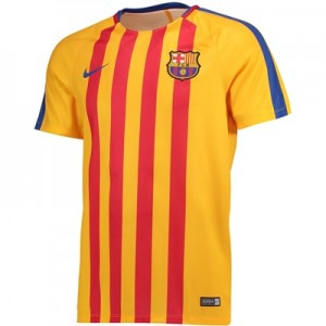 Barcelona Squad Pre Match Top – Gold – Kids All items