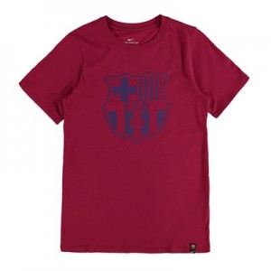 Barcelona Crest T-Shirt – Red – Kids All items