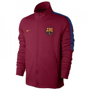 Barcelona Authentic Franchise Jacket – Red All items