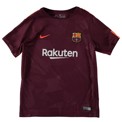 Barcelona Third Stadium Shirt 2017-18 – Kids All items
